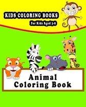 Kids Coloring Books Animal Coloring Book