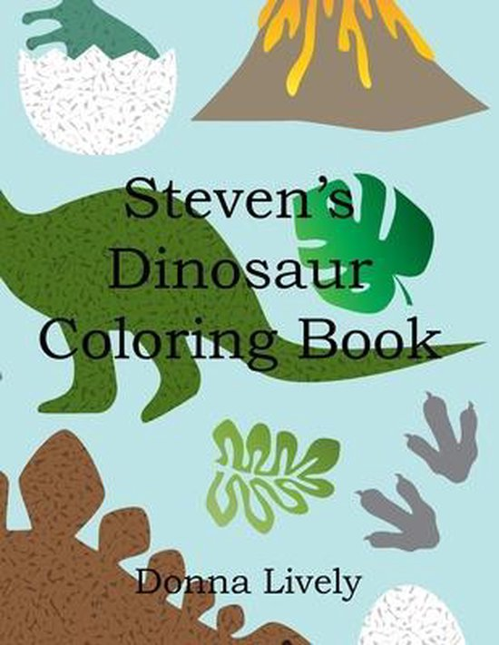 Steven's Dinosaur Coloring Book