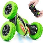 RC stunt auto op afstandsbediening - Voor kinderen en volwassenen - Groen