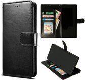 Samsung Galaxy A32 4G Hoesje Zwart - Portemonnee Book Case - Kaarthouder & Magneetlipje