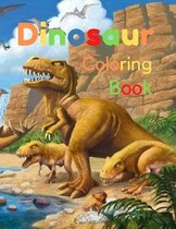 Dinosaur coloring book: Great Gift for Boys & Girls, all Ages