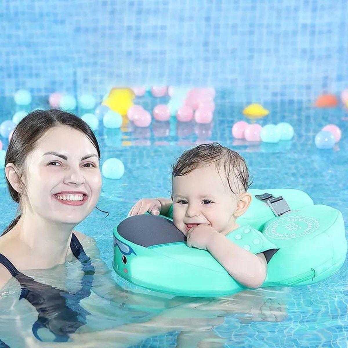 Baby Waist Float - Zwemband - Niet opblaasbare Float - Flotador Zwemmen - Zwemring | Mintgroen