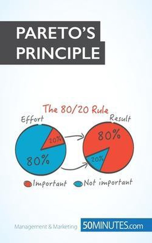 Boek cover Paretos Principle van 50minutes Com (Paperback)