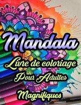 Magnifiques Mandalas Livre De Coloriage pour Adults: +100 ages à Colorier pour Adultes avec de Beaux et Grands Mandalas - Super Loisir Antistress pour