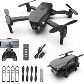 Rinx R16 - Drone met Camera -Mini Drone- 4K Full HD Dual Camera - Drones - Drones met Camera voor Volwassenen - Mini Drone - Drone voor Kinderen - 30 Minuten Vliegtijd – Inclusief GRATIS Opbergtas