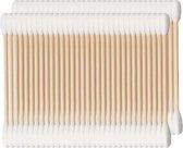 Wattenstaafjes Hout - Bamboe - 2x100 st