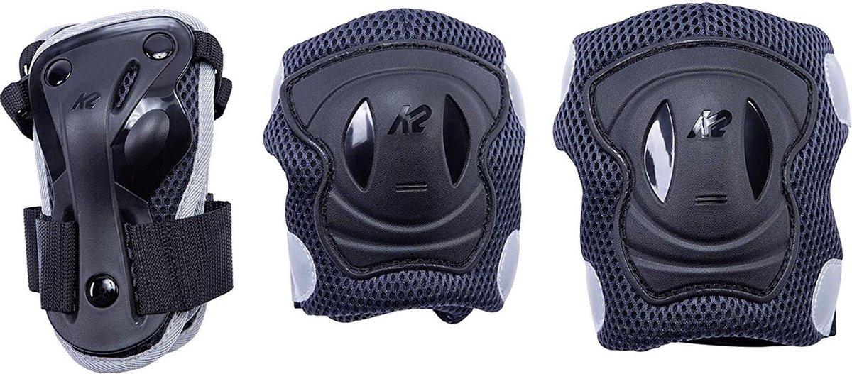K2 Valbescherming setVolwassenen - zwart/wit