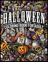 Coloring Book For Adult - Halloween