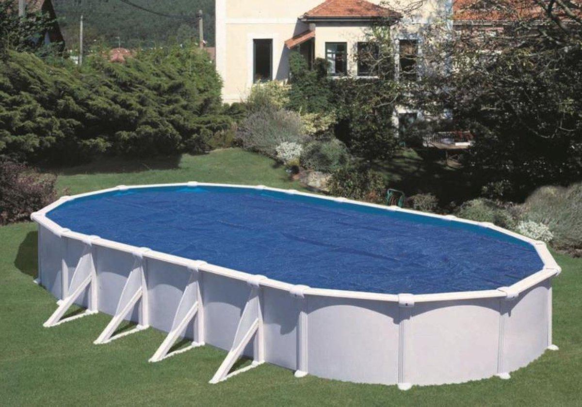 Zomerzeil voor zwembad 500 x 300 cm ovaal