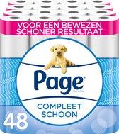 Page toiletpapier - Compleet Schoon wc papier - voordeelverpakking -  48 rollen