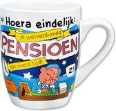 Cartoonmok Pensioen - 300 ml