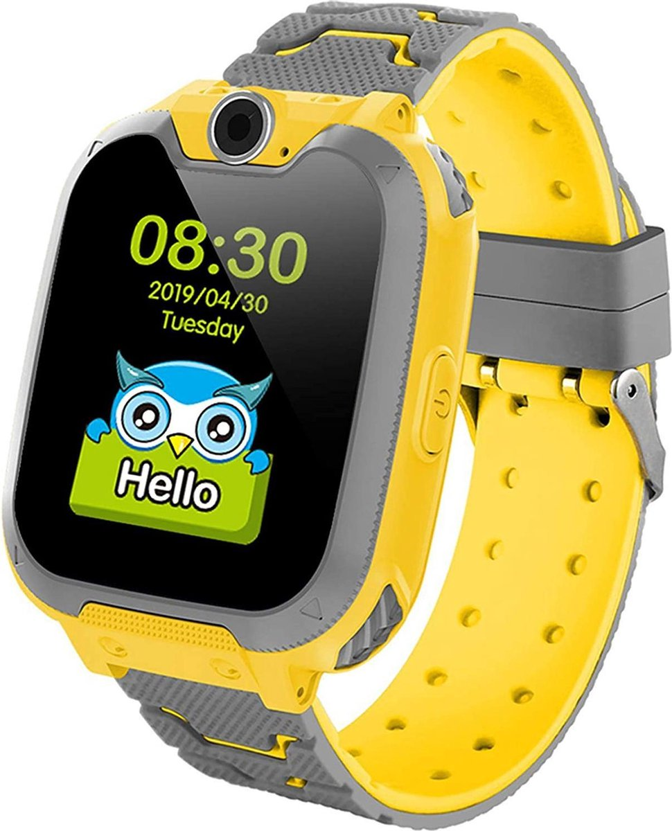 eXtremeWatches all-in-one Kinder Smartwatch Elite - Kinder Smartwatch - Smartwatch - Geel