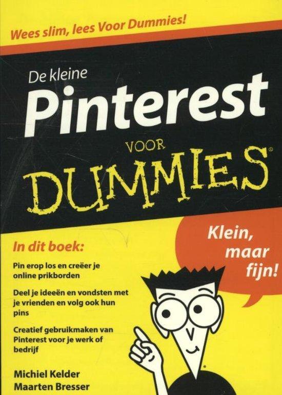 De kleine Pinterest voor Dummi