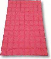 LOWLAND OUTDOOR® TRAVEL BLANKET – Dons - 210 x 140 cm - 595gr - Bordeaux Red