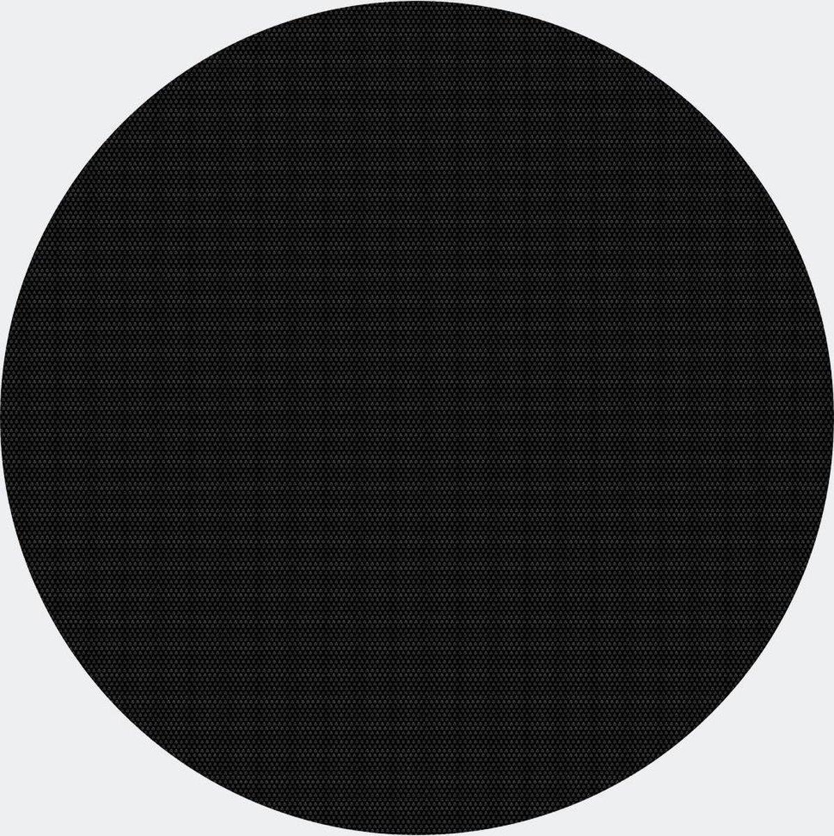 Zwembad zonnedoek, afdekking rond Ø 3.6m, zwart, zwembadafdekking verwarming - Multistrobe