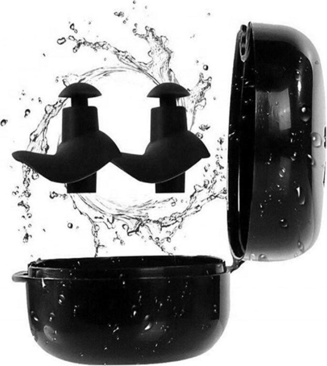 Zwem Oordopjes - Gehoorbescherming - Waterdichte Siliconen oordopjes - Snurken - Partyplugs - Herbru