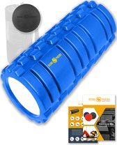 RP® Foam Roller inclusief Massage Bal Foamroller Massage Roller & Massagebal - Met Tas, Triggerpoint Bal, Workout eBook & Poster