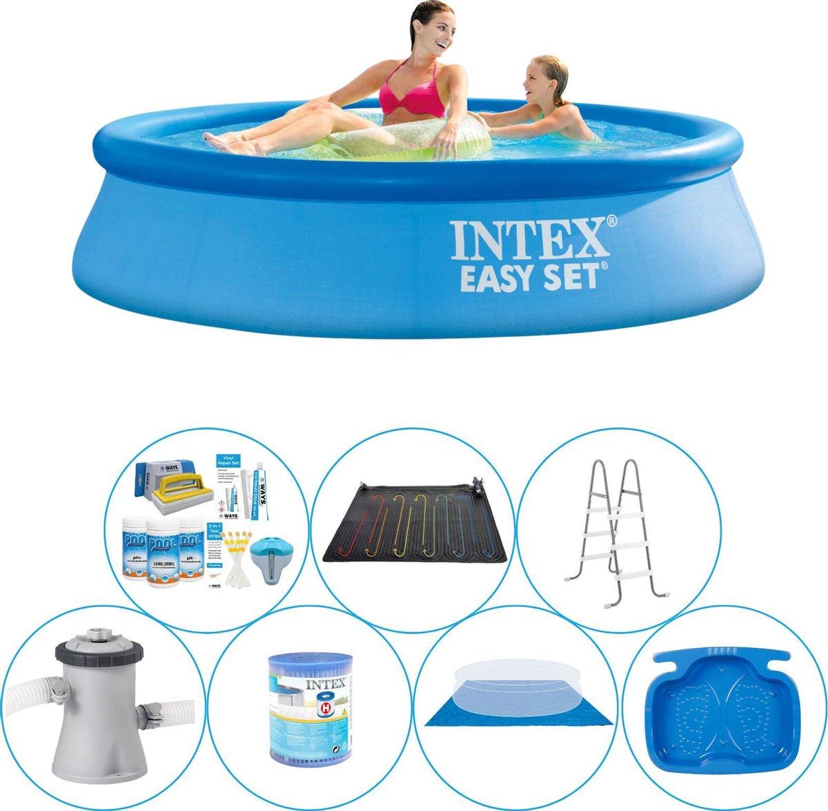 Intex Easy Set Rond 244x61 cm - 8-delig - Zwembad Super Deal
