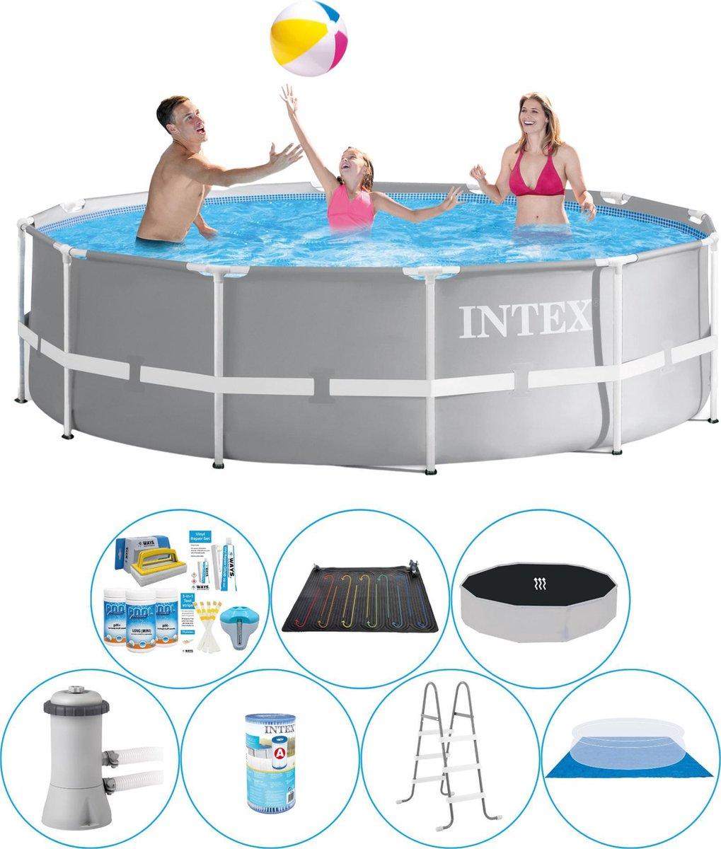 Intex Prism Frame Rond 366x99 cm - Zwembad Comfort Pakket