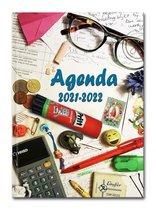 Hardcover The Daily Grind - 2021-2022 -Lerarenagenda/Docentenagenda
