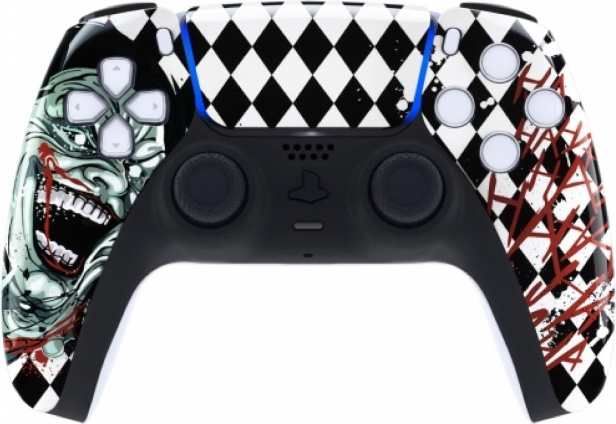 Sony PS5 DualSense Draadloze Controller – Joker HAHA Front Custom