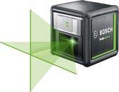 Bosch Quigo Green Kruislijnlaser - Zelfnivellerend - 12 meter bereik - Met batterijen