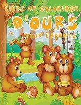 Livre de Coloriage d'Ours Pour Enfants