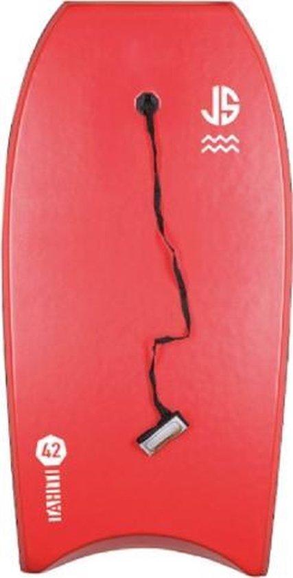 JS Bodyboard - rood-wit
