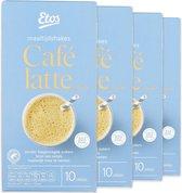Etos Maaltijdshake Café Latte - 40 sachets (4 x 10 zakjes)