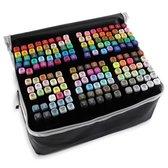 Stiften - Twinmarkers - Dual-Tip markers - Markeerstiften Alcohol - 168 stuks - Multicolor
