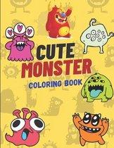 Cute Monster Coloring Book
