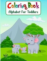 Coloring Book Alphabet For Toddlers