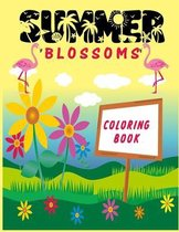 Summer Blossomes: Coloring Book