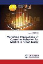 Marketing Implications Of Consumer Behavior For Market In Kedah Malay
