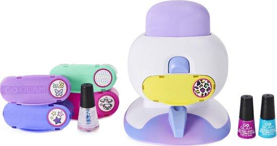 Cool Maker - GoGlam Nails Salon 2 in 1 voor manicures en pedicures - met 5 patronen en nageldroger