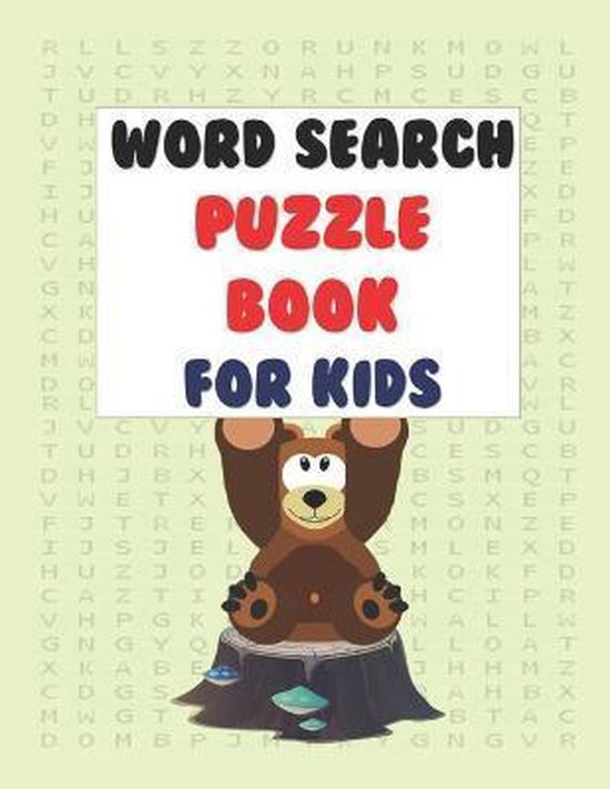 Word Search Puzzle Book for Kids