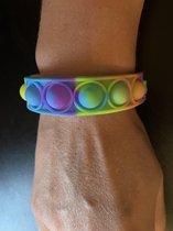 Fidget Toys - Popit - Pop it - Dimpl - simple dimple - armband - bracelet - polsband - tie dye