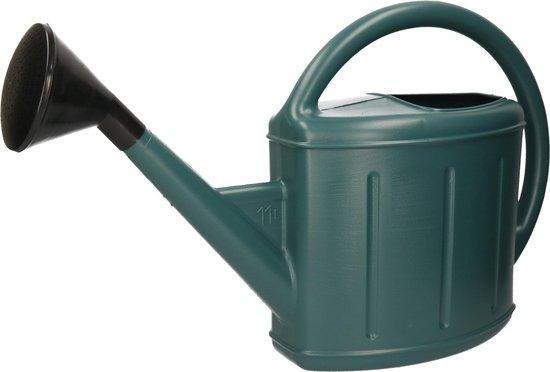 Klassieke tuin gieter groen 11 liter - Tuin/moestuin artikelen