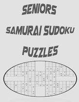 Seniors Samurai Sudoku Puzzles