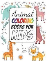 Animals Coloring Books for Boys and Girls