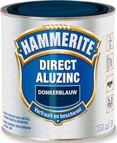 Hammerite Direct Over Aluzinc Metaallak - Donkerblauw - 750 ml
