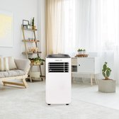 Green Pro® - Mobiele Airco 3 In 1 | 9000 BTU - 90m3 - Milieuvriendelijk | Airconditioning - Lucht Bevochtiger - Lucht Reiniger / Zuiveraar | Met Afstandsbediening