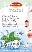 Schaebens Gezichtsmasker Naturals Clean & Pure, 10 ml