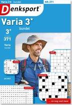 Denksport puzzelboek Varia 3* bundel editie 371