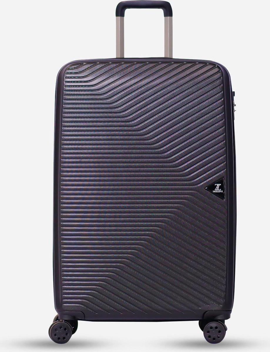 ©TROLLEYZ - Ibiza No.3 - Reiskoffer 78cm met TSA slot - Dubbele wielen - 360° spinners - 100% ABS -