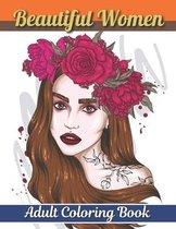 Beautiful Women Adult Coloring Book