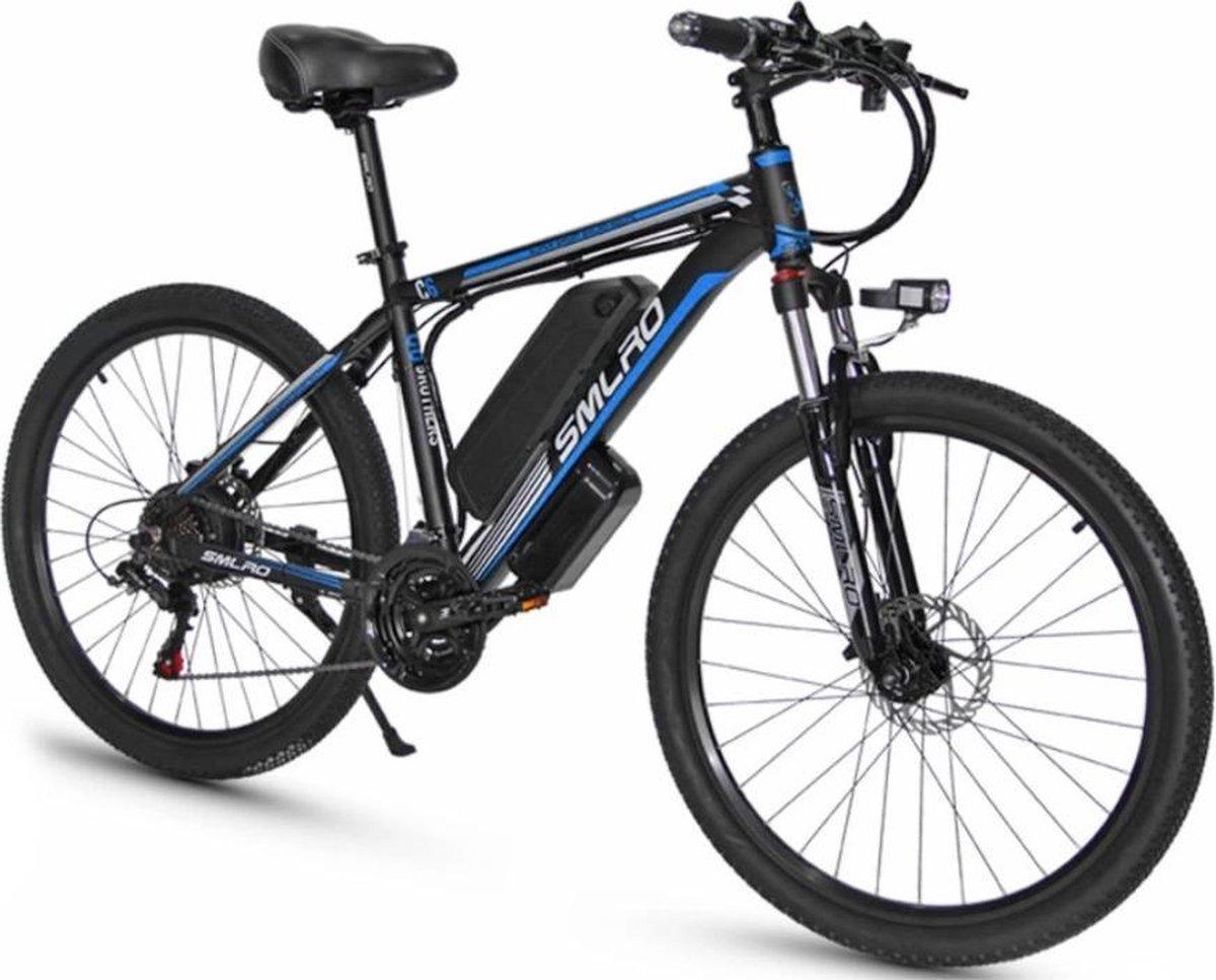 Matrix E Bike SMLRO M6 - E- Bike - Elektrische Mountain Bike - 29 Inch Kenda banden - 500W - 13Ah -
