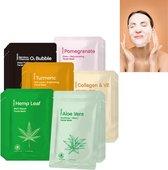 Luxovita® Gezichtsmasker - 5 in 1 - Fruitmasker - Face Mask -...