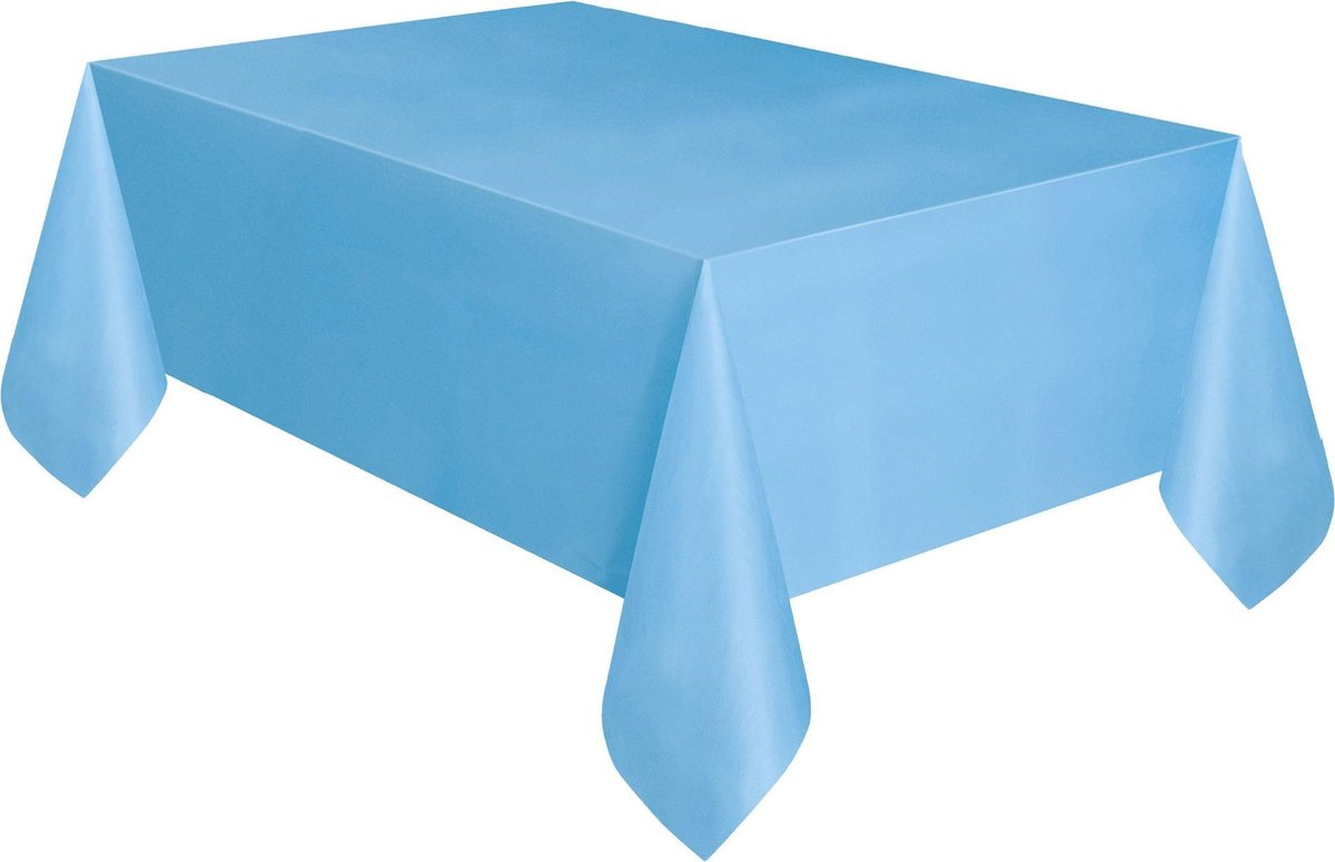 Tafelkleed - Powder Blue  - lichtblauw - 137 x 274 cm