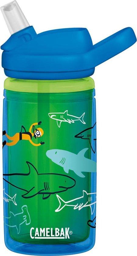 Camelbak Eddy Kids - Drinkfles - 400 ml - Antraciet Sharks - Camelbak